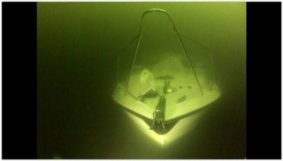Meren Syleily keula. Melkein kuin Titanic... melkein...